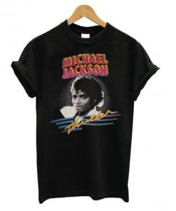 1982 MICHAEL JACKSON THRILLER T shirt