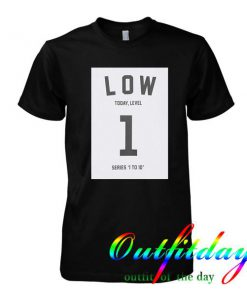 1 low studio concrete tshirt