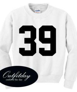 39 Font Sweatshirt