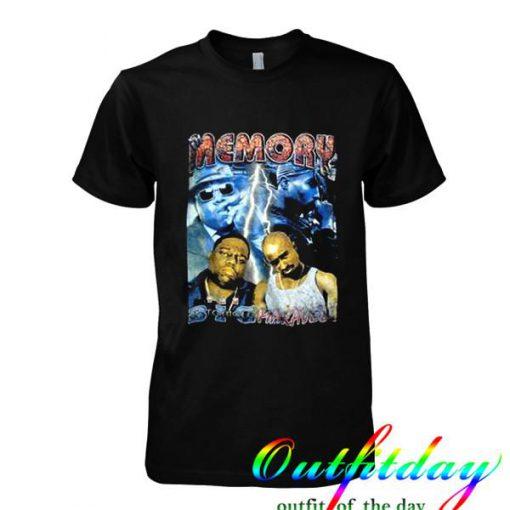 90s Tupac Biggie Memory tshirt
