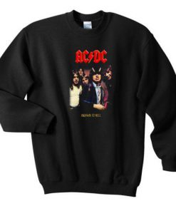 ACDC High To hell Sweatshirt Ez025