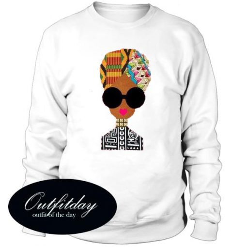 African Ethnic Art Sweatshirt