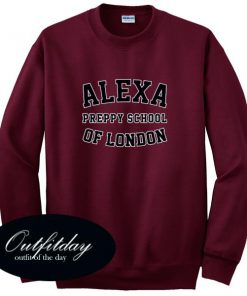 Alexa Preppy School of London Sweatshirt