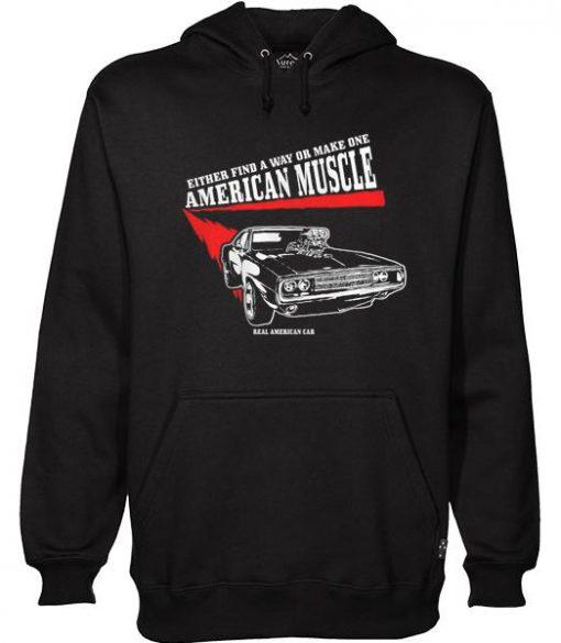 American Muscle Hoodie