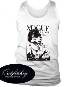 Audrey Hepburn Vogue Tanktop