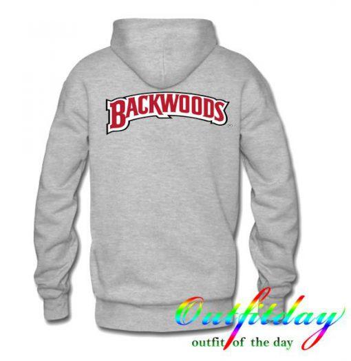 Backwoods hoodie back