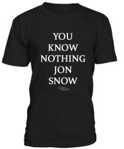 You Know Nothing Jon Snow Tshirt