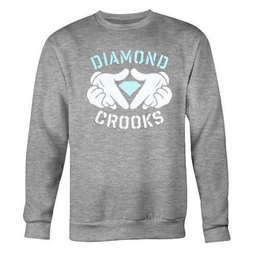 diamond crooks sweatshirt