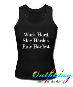 work hard tanktop