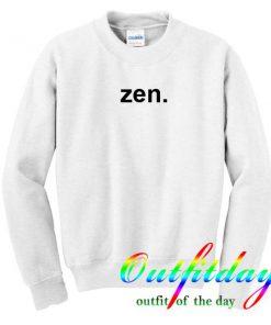 zen sweatshirt