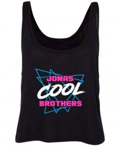 Jonas Brothers Cool Triangles Crop Tank-top