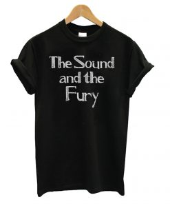 As Worn By Ian Curtis – The Sound And The Fury T shirt