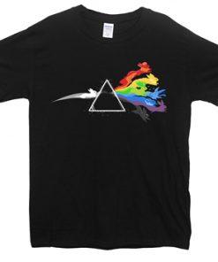 Dark Side of the Eevee Pokemon T Shirt
