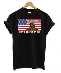 Don't Tread On Me Gadsden Flag American T shirt
