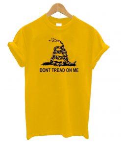 Don't Tread on Me Yellow T shirt