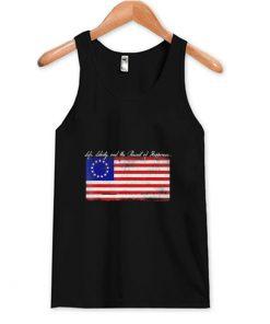 Patriotic American Flag Tank Top (OM)