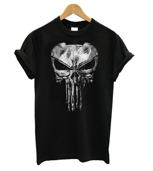The Punisher New Skull Daredevil Casual T shirt