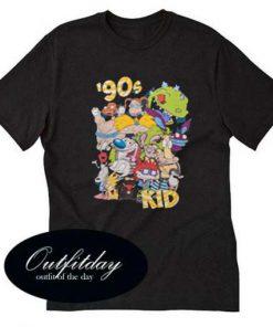 Retro 90's Nickelodeon T Shirt Size XS,S,M,L,XL,2XL,3XL