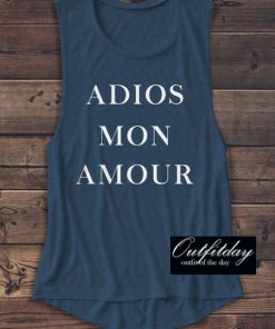ADIOS MON AMOUR Tank Top