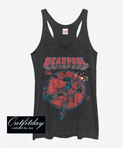 Marvel Deadpool Concussion Girls Tank Top