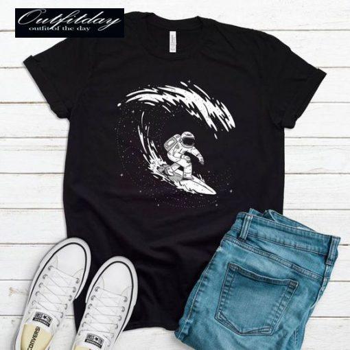 Surfing Astronaut T-shirt