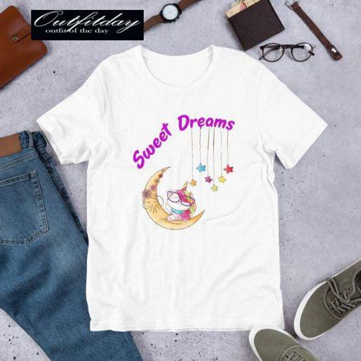 Sweet Dreams Cat Unicorn T-Shirt