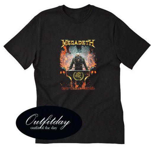 Megadeth New World Order T-Shirt