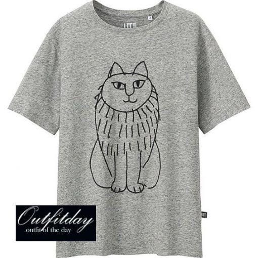 Women lisa larson graphic t-shirt