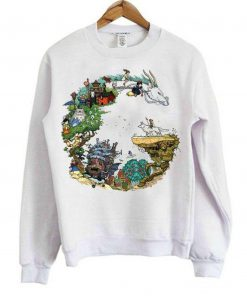 Dragon Studio Ghibli Sweatshirt B22
