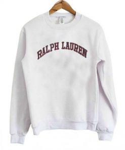 Ralph Lauren White Sweatshirt B22