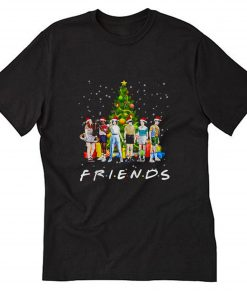 Stranger Things characters Friends Christmas T-Shirt B22