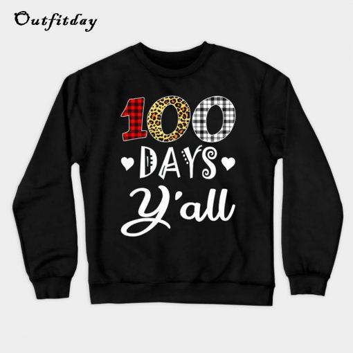 100th Day Sweatshirt B22