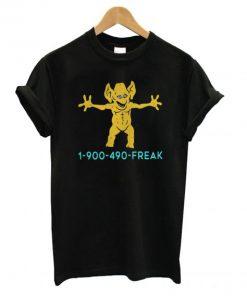 1 900 490 Freddie Freaker T shirt