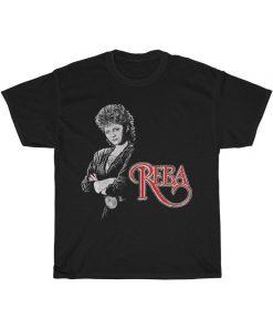 Reba McEntire Vintage Distressed Reprint T-Shirt PU27