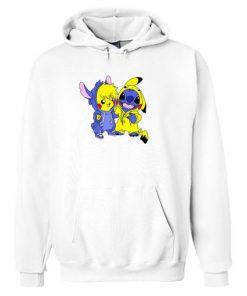 Stitch & Pikachu Hoodie