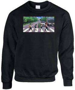 My Hero Academia Abbey Road Parody Funny Anime Gift Sweatshirt PU27