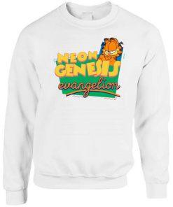 Neon Genesis Evangelion Garfield Parody Sweatshirt PU27