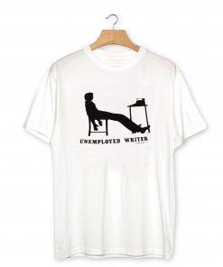Retro '80s soft UNEMPLOYED WRITER T-Shirt PU27