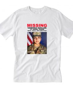 Missing Vanessa Guillen T-Shirt PU27