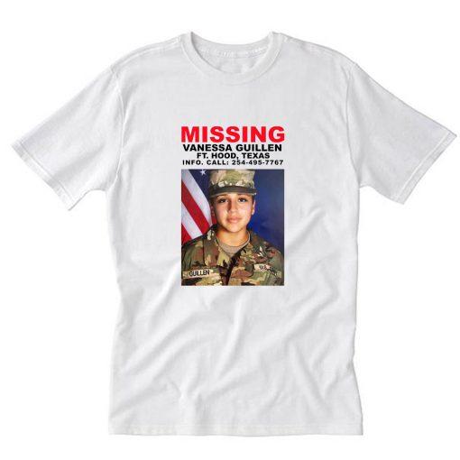 Missing Vanessa Guillen T-Shirt PU27