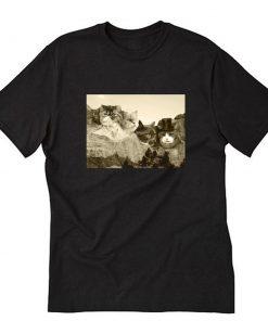 Mount Meowmore T-Shirt PU27