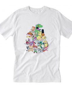Nickelodeon Retro Group T-Shirt PU27