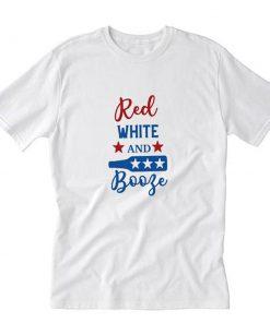 Red White and Booze T-Shirt PU27
