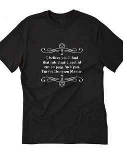 Caverns and Creatures RPG T-Shirt PU27