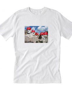 Red Hats on Rushmore T-Shirt PU27
