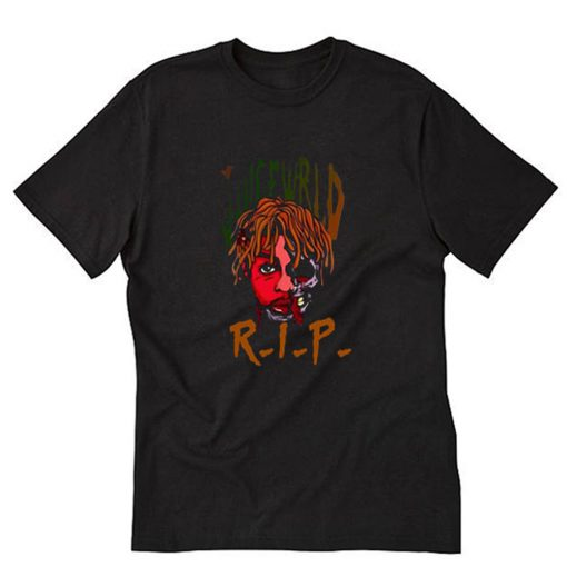 Rest In Peace Juice WRLD T-Shirt PU27