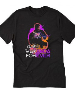 Chadwick boseman 42 Wakanda forever T-Shirt PU27